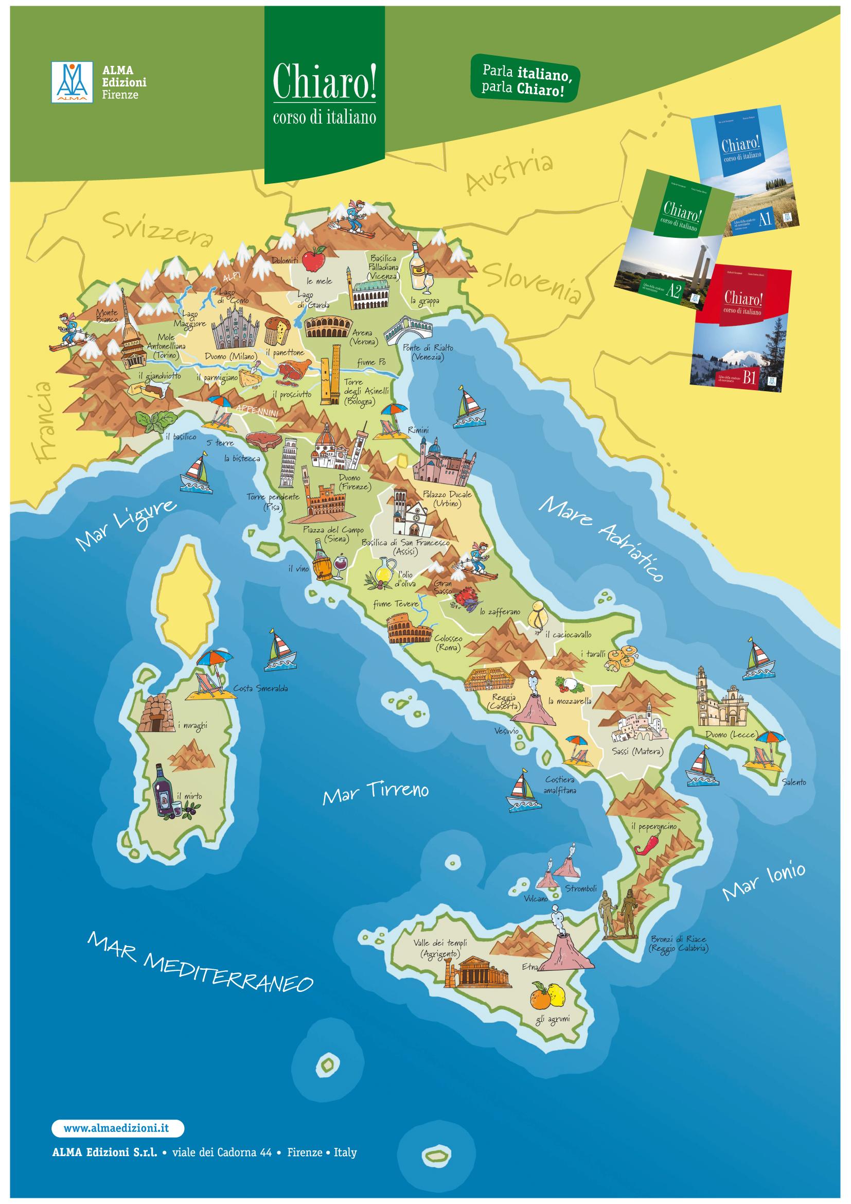 Cartina Dell Italia Turistica.Al Pagina 5