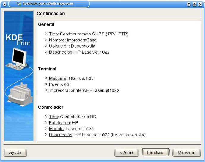 Compartir una impresora con otros ordenadores