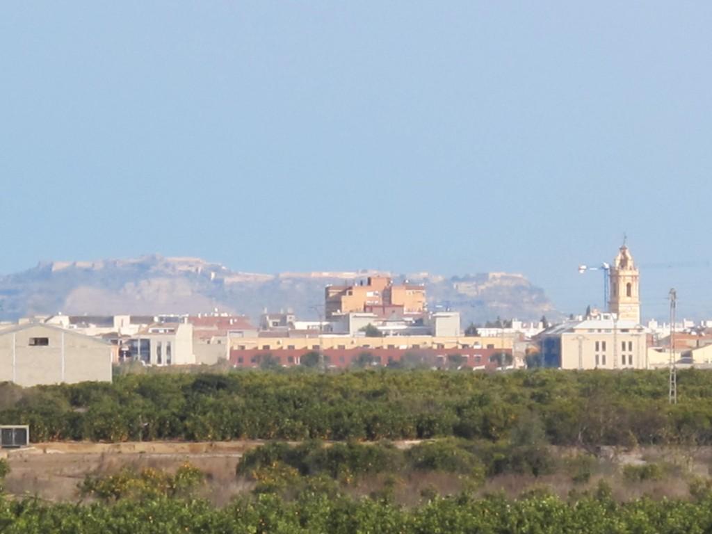 Castillo de Sagunto desde mi ventana