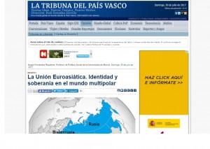 La unión euroasiática